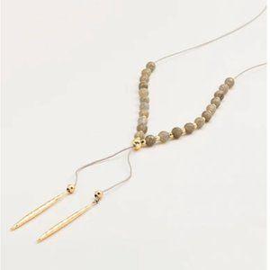 Gorjana Power Gemstone Beaded Necklace Gold